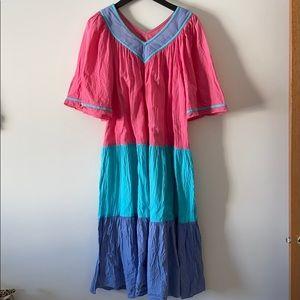 Vintage Two Potato Tiered Dress